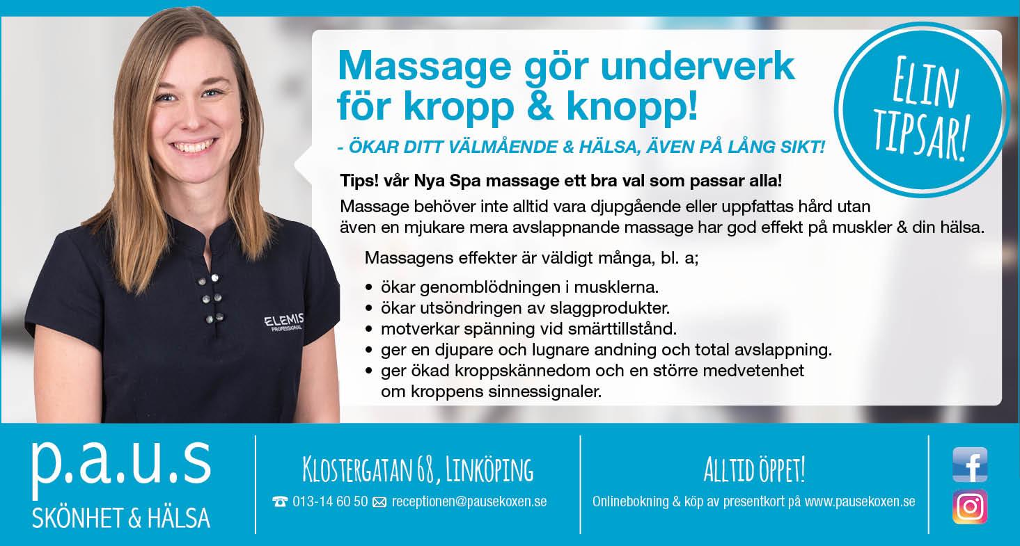 massage linköping presentkort